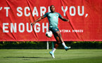 SOUTHAMPTON, ENGLAND - SEPTEMBER 17: Michael Obafemi during a Southampton FC training session at the Staplewood Campus on September 17, 2019 in Southampton, England. (Photo by Matt Watson/Southampton FC via Getty Images)