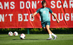 SOUTHAMPTON, ENGLAND - SEPTEMBER 17: Jack Stephens during a Southampton FC training session at the Staplewood Campus on September 17, 2019 in Southampton, England. (Photo by Matt Watson/Southampton FC via Getty Images)