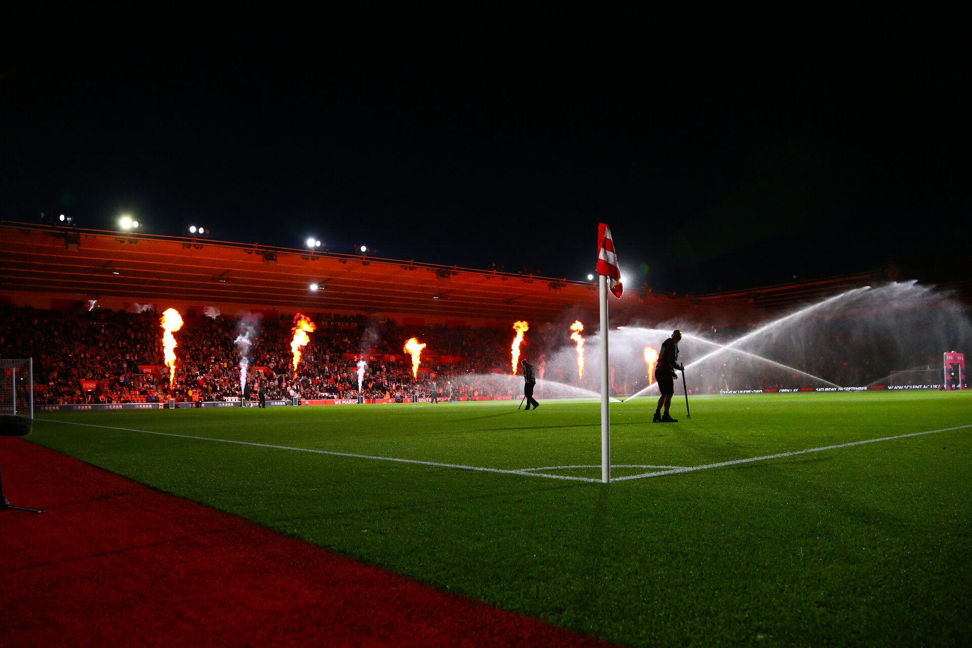 during Premier League match between Southampton FC and Bournemouth, at St Mary's Stadium, Southampton, 20th September 2019 (pic Isabelle Field)