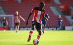 Lucas Defise during Premier League 2 match between Southampton FC U23 and Chelsea, at St Mary's Stadium, Southampton, 21th September 2019 (pic Isabelle Field)