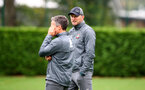 SOUTHAMPTON, ENGLAND - SEPTEMBER 22: Ralph Hasenhuttl during a training session at the Staplewood Campus on September 22, 2019 in Southampton, England. (Photo by Matt Watson/Southampton FC via Getty Images)