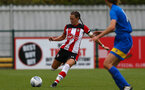 Tiffany Taylor during the FA Women's National League, Div One South West match between Southampton FC Women and Cheltenham Town, at the Testwood Community Stadium, AFC Totton, Southampton, 22nd September 2019 (pic by Isabelle Field)