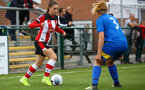 Georigie Freeland during the FA Women's National League, Div One South West match between Southampton FC Women and Cheltenham Town, at the Testwood Community Stadium, AFC Totton, Southampton, 22nd September 2019 (pic by Isabelle Field)