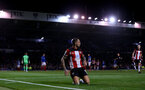 PORTSMOUTH, ENGLAND - SEPTEMBER 24: Danny Ings of Southampton celebrates during the Carabao Cup Third Round match between Portsmouth and Southampton at Fratton Park on September 24, 2019 in Portsmouth, England. (Photo by Matt Watson/Southampton FC via Getty Images)