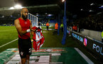 PORTSMOUTH, ENGLAND - SEPTEMBER 24: Nathan Redmond of Southampton during the Carabao Cup Third Round match between Portsmouth and Southampton at Fratton Park on September 24, 2019 in Portsmouth, England. (Photo by Matt Watson/Southampton FC via Getty Images)