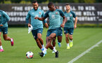 SOUTHAMPTON, ENGLAND - SEPTEMBER 26: Kevin Danso during a Southampton FC training session at the Staplewood Campus on September 26, 2019 in Southampton, England. (Photo by Matt Watson/Southampton FC via Getty Images)