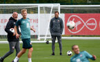 SOUTHAMPTON, ENGLAND - SEPTEMBER 26: Ralph Hasenhuttl during a Southampton FC training session at the Staplewood Campus on September 26, 2019 in Southampton, England. (Photo by Matt Watson/Southampton FC via Getty Images)