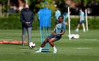 SOUTHAMPTON, UK, OCTOBER 02: Michael Obafemi during a Southampton FC training session at the Staplewood Campus, Southampton, UK, 2nd October 2019, (pic by Matt Watson/Southampton FC via Getty Images)