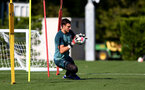 SOUTHAMPTON, UK, OCTOBER 02: Alex McCarthy during a Southampton FC training session at the Staplewood Campus, Southampton, UK, 2nd October 2019, (pic by Matt Watson/Southampton FC via Getty Images)