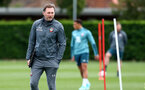SOUTHAMPTON, ENGLAND - OCTOBER 03: Ralph Hasenhuttl during a Southampton FC training session at the Staplewood Campus on October 03, 2019 in Southampton, England. (Photo by Matt Watson/Southampton FC via Getty Images)