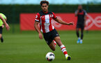Christian Norton during Premier League Cup between Southampton FC U23 and Stoke City at Staplewood Campus, Southampton 5th October 2019 (pic by Isabelle Field)