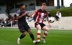 Kameron Ledwidge during Premier League Cup between Southampton FC U23 and Stoke City at Staplewood Campus, Southampton 5th October 2019 (pic by Isabelle Field)