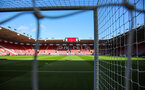 SOUTHAMPTON, ENGLAND - OCTOBER 6: General view of St Mary's Stadium prior to the Premier League match between Southampton FC and Chelsea FC at St Mary's Stadium on October 6, 2019 in Southampton, England
