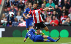 Shane Long during Premier League between Southampton FC and Chelsea at St Mary's Stadium, Southampton 6th October 2019 (pic by Isabelle Field)
