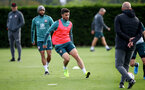 SOUTHAMPTON, ENGLAND - OCTOBER 09: Shane Long during a Southampton FC training session at the Staplewood Campus on October 09, 2019 in Southampton, England. (Photo by Matt Watson/Southampton FC via Getty Images)