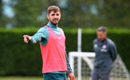 SOUTHAMPTON, ENGLAND - OCTOBER 23: Jan Bednarek during a Southampton FC training session at the Staplewood Campus on October 23, 2019 in Southampton, England. (Photo by Matt Watson/Southampton FC via Getty Images)