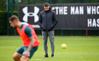 SOUTHAMPTON, ENGLAND - OCTOBER 23: Ralph Hasenhuttl during a Southampton FC training session at the Staplewood Campus on October 23, 2019 in Southampton, England. (Photo by Matt Watson/Southampton FC via Getty Images)