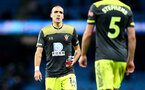 MANCHESTER, ENGLAND - OCTOBER 29: Oriol Romeu of Southampton during the Carabao Cup Round of 16 match between Manchester City and Southampton FC at the Etihad Stadium on October 29, 2019 in Manchester, England. (Photo by Matt Watson/Southampton FC via Getty Images)