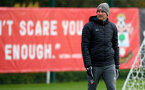 SOUTHAMPTON, ENGLAND - NOVEMBER 05, Ralph Hasenhuttl during a Southampton FC training session at the Staplewood Complex on November 05, 2019 in Southampton, England. (Photo by Matt Watson/Southampton FC via Getty Images)