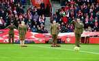 SOUTHAMPTON, ENGLAND - NOVEMBER 09: The remembrance day silence during the Premier League match between Southampton FC and Everton FC at St Mary's Stadium on November 09, 2019 in Southampton, United Kingdom. (Photo by Matt Watson/Southampton FC via Getty Images)