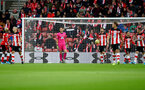 SOUTHAMPTON, ENGLAND - NOVEMBER 09: Dejected Southampton players during the Premier League match between Southampton FC and Everton FC at St Mary's Stadium on November 09, 2019 in Southampton, United Kingdom. (Photo by Matt Watson/Southampton FC via Getty Images)