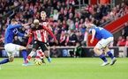 SOUTHAMPTON, ENGLAND - NOVEMBER 09: Moussa Djenepo during the Premier League match between Southampton FC and Leicester City at St Mary's Stadium on November 09, 2019 in Southampton, United Kingdom. (Photo by Chris Moorhouse/Southampton FC via Getty Images)