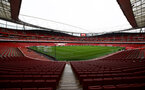 LONDON, ENGLAND - NOVEMBER 23: A general view ahead of  the Premier League match between Arsenal FC and Southampton FC at Emirates Stadium on November 23, 2019 in London, United Kingdom. (Photo by Matt Watson/Southampton FC via Getty Images)