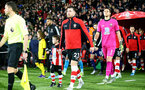 SOUTHAMPTON, ENGLAND - NOVEMBER 30: The match day mascot during the Premier League match between Southampton FC and Watford FC at St Mary's Stadium on November 30, 2019 in Southampton, United Kingdom. (Photo by Matt Watson/Southampton FC via Getty Images)