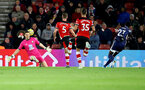 SOUTHAMPTON, ENGLAND - NOVEMBER 30: Alex McCarthy of Southampton(L) is beaten asWatford score during the Premier League match between Southampton FC and Watford FC at St Mary's Stadium on November 30, 2019 in Southampton, United Kingdom. (Photo by Matt Watson/Southampton FC via Getty Images)