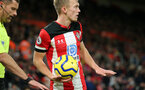 SOUTHAMPTON, ENGLAND - NOVEMBER 30: James Ward-Prowse during the Premier League match between Southampton FC and Watford FC at St Mary's Stadium on November 30, 2019 in Southampton, United Kingdom. (Photo by Chris Moorhouse/Southampton FC via Getty Images)