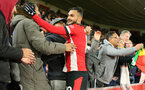 SOUTHAMPTON, ENGLAND - NOVEMBER 30: Sofiane Boufal during the Premier League match between Southampton FC and Watford FC at St Mary's Stadium on November 30, 2019 in Southampton, United Kingdom. (Photo by Chris Moorhouse/Southampton FC via Getty Images)