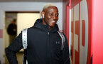 SOUTHAMPTON, ENGLAND - DECEMBER 04: Moussa Djenepo during the Premier League match between Southampton FC and Norwich City at St Mary's Stadium on December 04, 2019 in Southampton, United Kingdom. (Photo by Matt Watson/Southampton FC via Getty Images)