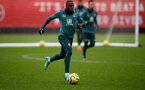 SOUTHAMPTON, ENGLAND - DECEMBER 09: Michael Obafemi during a Southampton FC training session on December 12, 2019 in Southampton, England. (Photo by Matt Watson/Southampton FC via Getty Images)