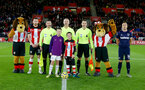 SOUTHAMPTON, ENGLAND - DECEMBER 14: Centre circle photo during the Premier League match between Southampton FC and West Ham United at St Mary's Stadium on December 14, 2019 in Southampton, United Kingdom. (Photo by Matt Watson/Southampton FC via Getty Images)