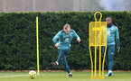 SOUTHAMPTON, ENGLAND - DECEMBER 17: James Ward-Prowse during a Southampton FC training session at the Staplewood Campus on December 17, 2019 in Southampton, England. (Photo by Isabelle Field/Southampton FC via Getty Images)