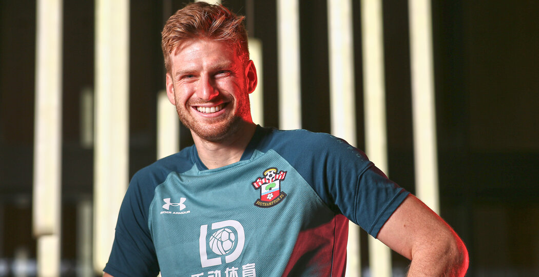 SOUTHAMPTON, ENGLAND - DECEMBER 19: Stuart Armstrong pictured for the Saints match day magazine at the Staplewood Campus on December 19, 2019 in Southampton, England. (Photo by Matt Watson/Southampton FC via Getty Images)