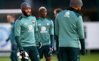 SOUTHAMPTON, ENGLAND - DECEMBER 25: Nathan Redmond during a Christmas day training session at the Staplewood Campus on December 25, 2019 in Southampton, England. (Photo by Matt Watson/Southampton FC via Getty Images)