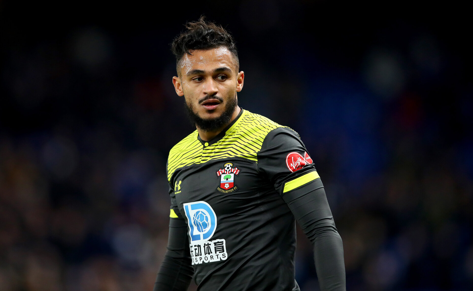 LONDON, ENGLAND - DECEMBER 26: Sofiane Boufal of Southampton during the Premier League match between Chelsea FC and Southampton FC at Stamford Bridge on December 26, 2019 in London, United Kingdom. (Photo by Matt Watson/Getty Images)