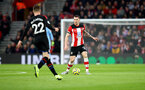 SOUTHAMPTON, ENGLAND - DECEMBER 28: Pierre-Emile Hojbjerg of Southampton during the Premier League match between Southampton FC and Crystal Palace at St Mary's Stadium on December 28, 2019 in Southampton, United Kingdom. (Photo by Matt Watson/Southampton FC via Getty Images)