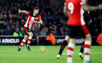 SOUTHAMPTON, ENGLAND - DECEMBER 28: Jack Stephens of Southampton during the Premier League match between Southampton FC and Crystal Palace at St Mary's Stadium on December 28, 2019 in Southampton, United Kingdom. (Photo by Matt Watson/Southampton FC via Getty Images)