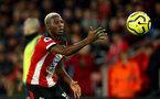 SOUTHAMPTON, ENGLAND - DECEMBER 28: Moussa Djenepo of Southampton during the Premier League match between Southampton FC and Crystal Palace at St Mary's Stadium on December 28, 2019 in Southampton, United Kingdom. (Photo by Matt Watson/Southampton FC via Getty Images)