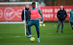 SOUTHAMPTON, ENGLAND - DECEMBER 29: Kevin Danso during a Southampton FC training session at the Staplewood Complex on December 29, 2019 in Southampton, England. (Photo by Matt Watson/Southampton FC via Getty Images)