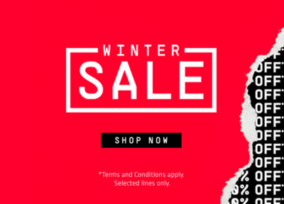 Winter Sale on now