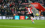 SOUTHAMPTON, ENGLAND - JANUARY 01: Danny Ings of Southampton scores during the Premier League match between Southampton FC and Tottenham Hotspur at St Mary's Stadium on January 01, 2020 in Southampton, United Kingdom. (Photo by Matt Watson/Southampton FC via Getty Images)