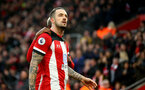 SOUTHAMPTON, ENGLAND - JANUARY 01: Danny Ings of Southampton during the Premier League match between Southampton FC and Tottenham Hotspur at St Mary's Stadium on January 01, 2020 in Southampton, United Kingdom. (Photo by Matt Watson/Southampton FC via Getty Images)