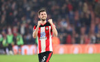 SOUTHAMPTON, ENGLAND - JANUARY 01: Jack Stephens during the Premier League match between Southampton FC and Tottenham Hotspur at St Mary's Stadium on January 1, 2020 in Southampton, United Kingdom. (Photo by Chris Moorhouse/Southampton FC via Getty Images)