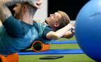 SOUTHAMPTON, ENGLAND - JANUARY 02: James Ward-Prowse during a Southampton FC recovery session at the Staplewood Campus on January 02, 2020 in Southampton, England. (Photo by Matt Watson/Southampton FC via Getty Images)