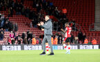 SOUTHAMPTON, ENGLAND - JANUARY 04: Ralph Hasenhüttl during the FA Cup, Third Round, match between Southampton FC and Huddersfield Town at St Mary's Stadium on January 4, 2020 in Southampton, United Kingdom. (Photo by Chris Moorhouse/Southampton FC via Getty Images)