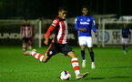 SOUTHAMPTON, ENGLAND - JANUARY 06: Kayne Ramsay during the Premier League 2 match between Southampton U23 and Everton at Staplewood Training Ground on January 6, 2020 in Southampton, United Kingdom. (Photo by Isabelle Field/Southampton FC via Getty Images)