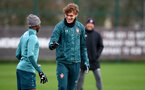 SOUTHAMPTON, ENGLAND - JANUARY 07: Jannik Vestergaard during a Southampton FC training session at the Staplewood Campus on January 07, 2020 in Southampton, England. (Photo by Matt Watson/Southampton FC via Getty Images)